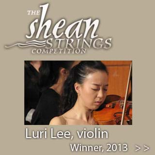 2013 Shean Strings Competition Winner Luri Lee, Violin